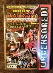 Best Of Backyard Wrestling best of backyard wrestling 2, uncensored! the more hardcore than