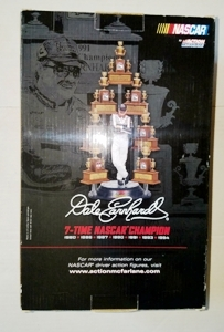 Dale Earnhardt 7 Time NASCAR Champion Deluxe Boxed Set Action McFarlane Statue Factory Sealed