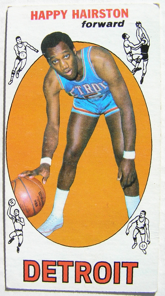 1969 70 Topps 83 Happy Hairston Detroit Pistons R