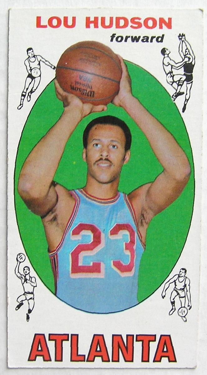 1969 70 Topps 65 Lou Hudson Atlanta Hawks Rookie