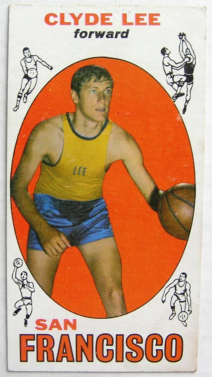 1969 70 Topps 93 Clyde Lee San Francisco Warriors