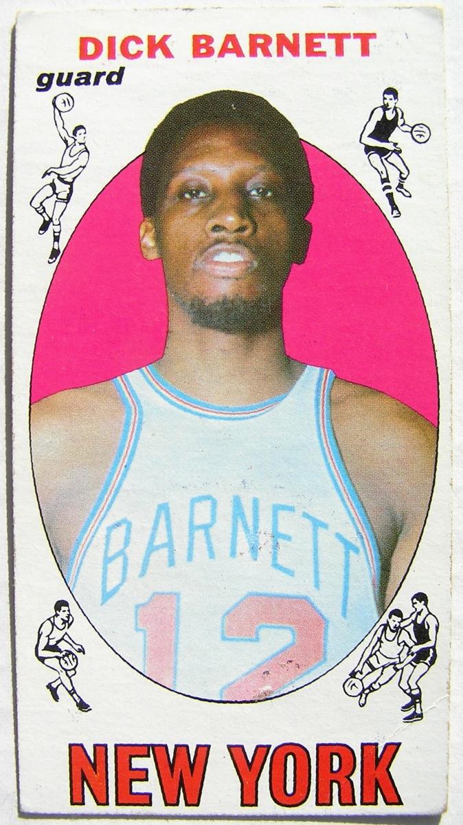 1969 70 Topps 18 Dick Barnett New York Knicks Roo