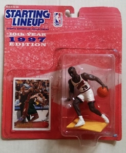 1997 GARY PAYTON STARTING LINEUP ACTION FIGURE SLU SUPERSONICS TOPPS